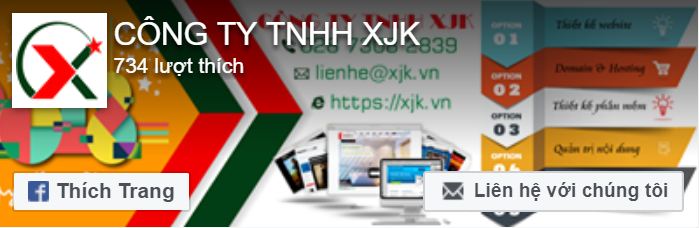 Fanpage Công ty TNHH XJK